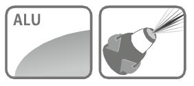 Caracteristici lance de stropit aluminiu Stocker