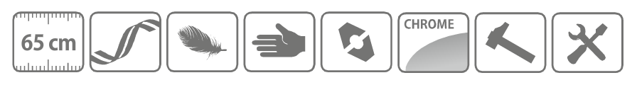 Caracteristici foarfeca profesionala pentru tuns gard viu cu lama ondulata 65 cm