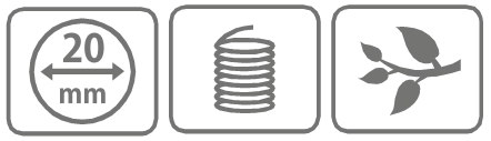 Caracteristici cutit inel din aluminiu 20 mm
