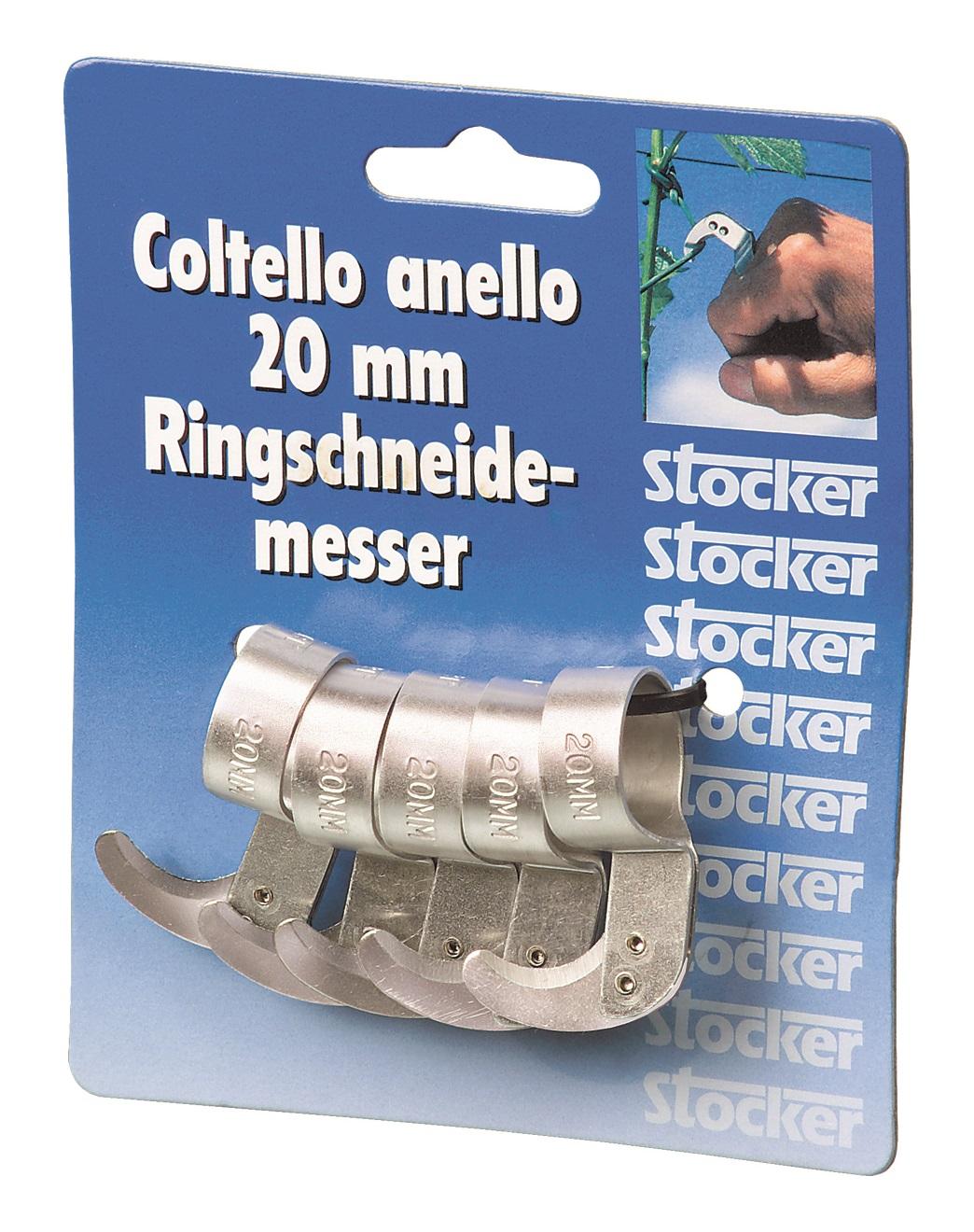 Set cutit inel din aluminiu 20 mm - 5 buc.