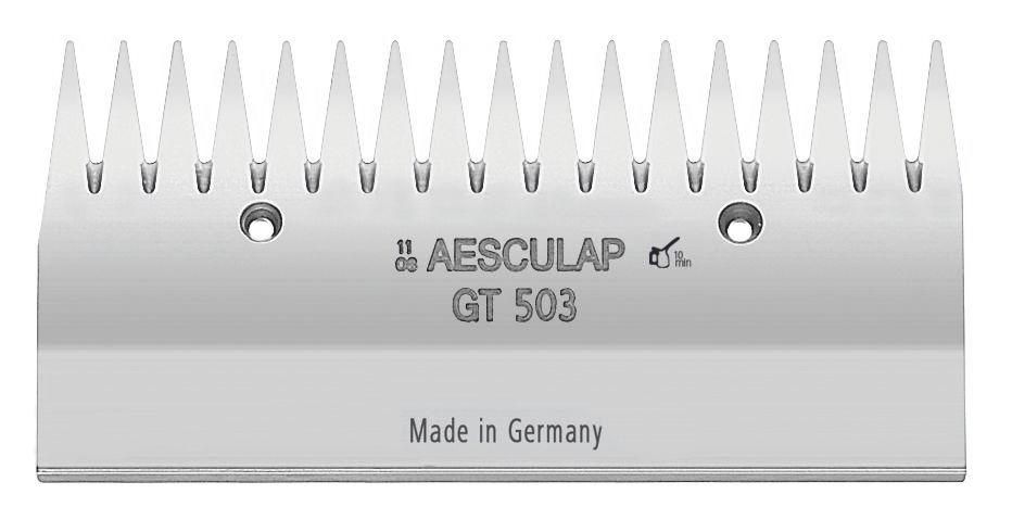 Cutit de tundere superior Aesculap - 17 dinti