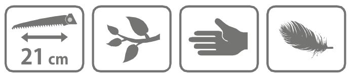 Caracteristici ferastrau profesional tip briceag Suracon 210 LD