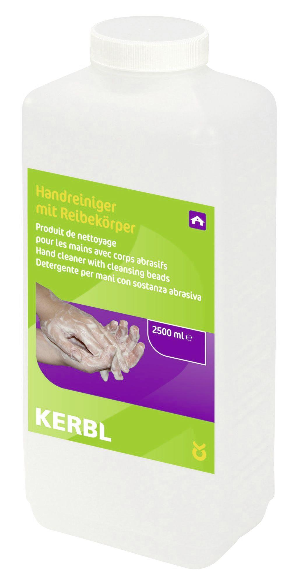 Detergent lichid Kerbl pentru maini - cu particule abrazive (2500 ml)