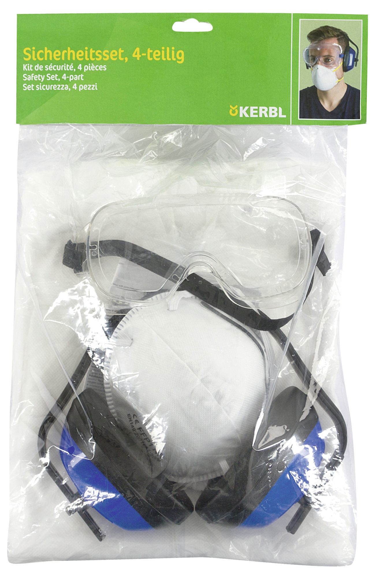 Set protectie Kerbl - 4 piese