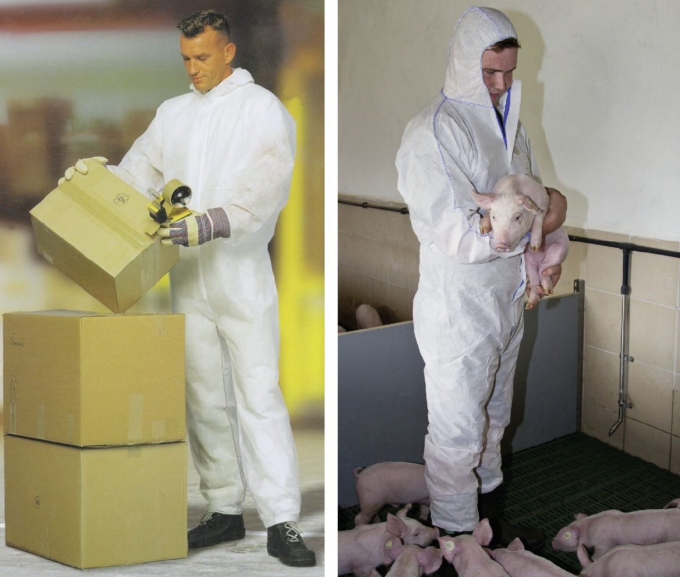 Salopeta Kerbl CoverBase - protectie substante chimice
