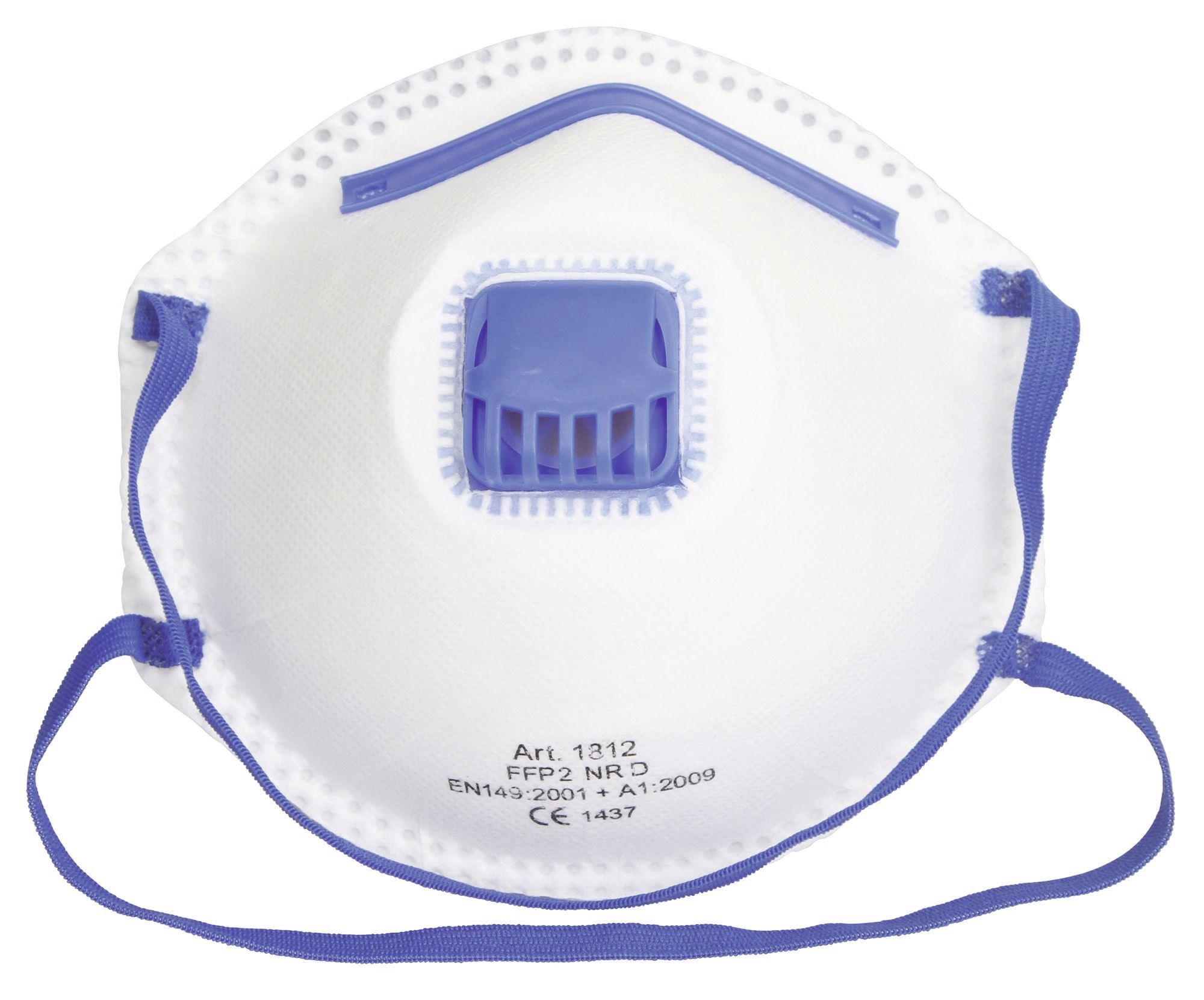Masca protectie FFP2 NR D Kerbl cu supapa - set 3 bucati