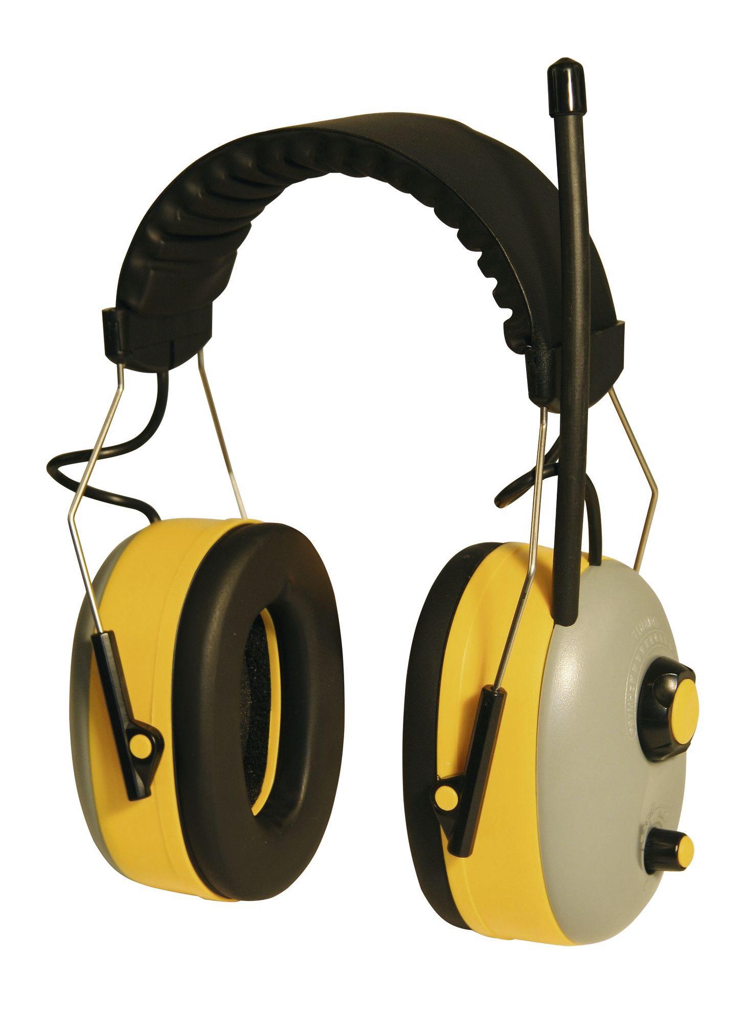 Casti protectie auditiva Kerbl - cu radio