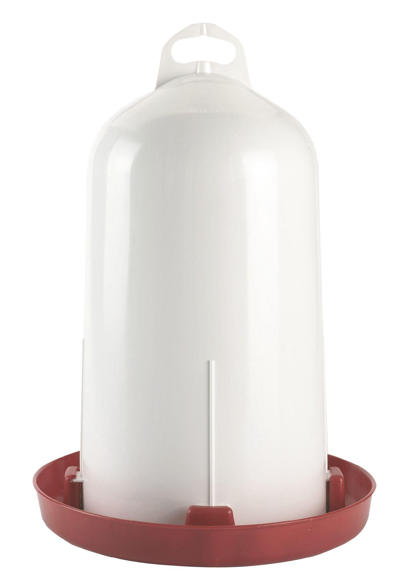 Adapatoare de pasari Kerbl cu dublu cilindru - 12 litri