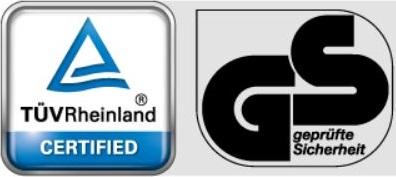 TUV GS Certified
